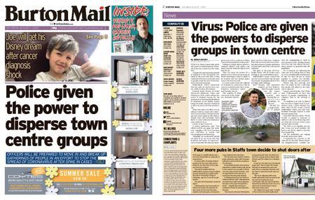 Burton Mail – August 01, 2020