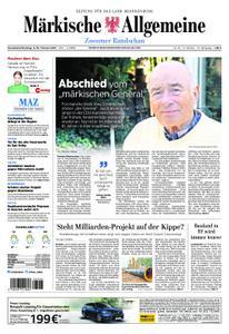 Märkische Allgemeine Zossener Rundschau - 09. Februar 2019