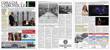 Gibraltar Chronicle – 22 November 2019