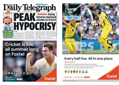 The Daily Telegraph (Sydney) – October 14, 2019