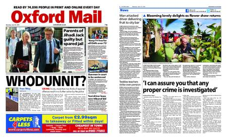 Oxford Mail – June 22, 2019