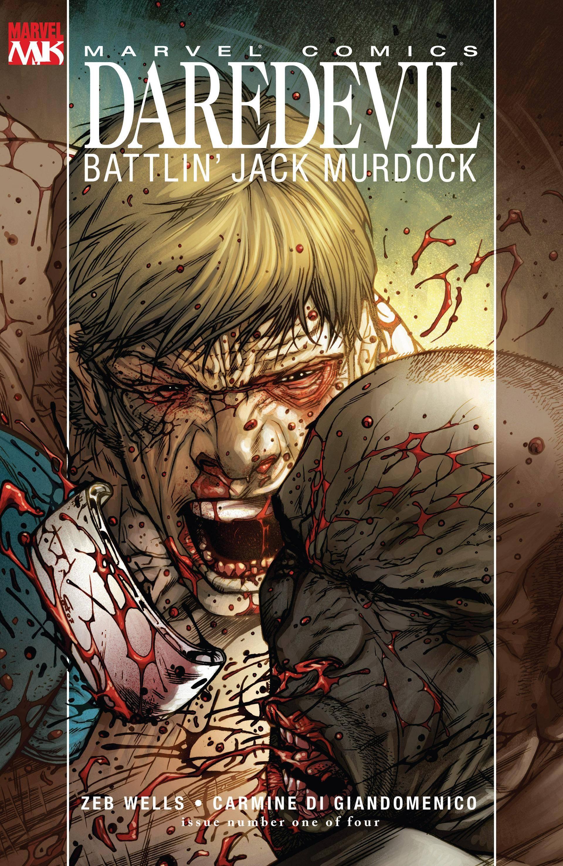 Daredevil Battlin Jack Murdock 01 of 4 2007 Digital