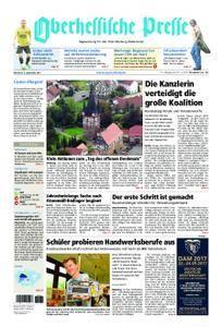 Oberhessische Presse Marburg/Ostkreis - 06. September 2017
