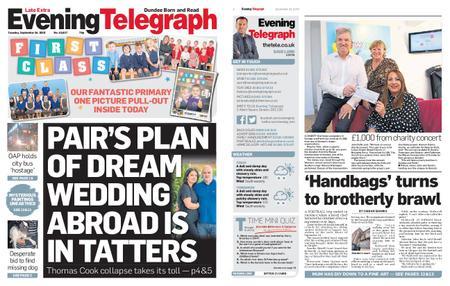 Evening Telegraph First Edition – September 24, 2019