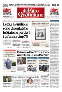 Il Fatto Quotidiano - 20 luglio 2019