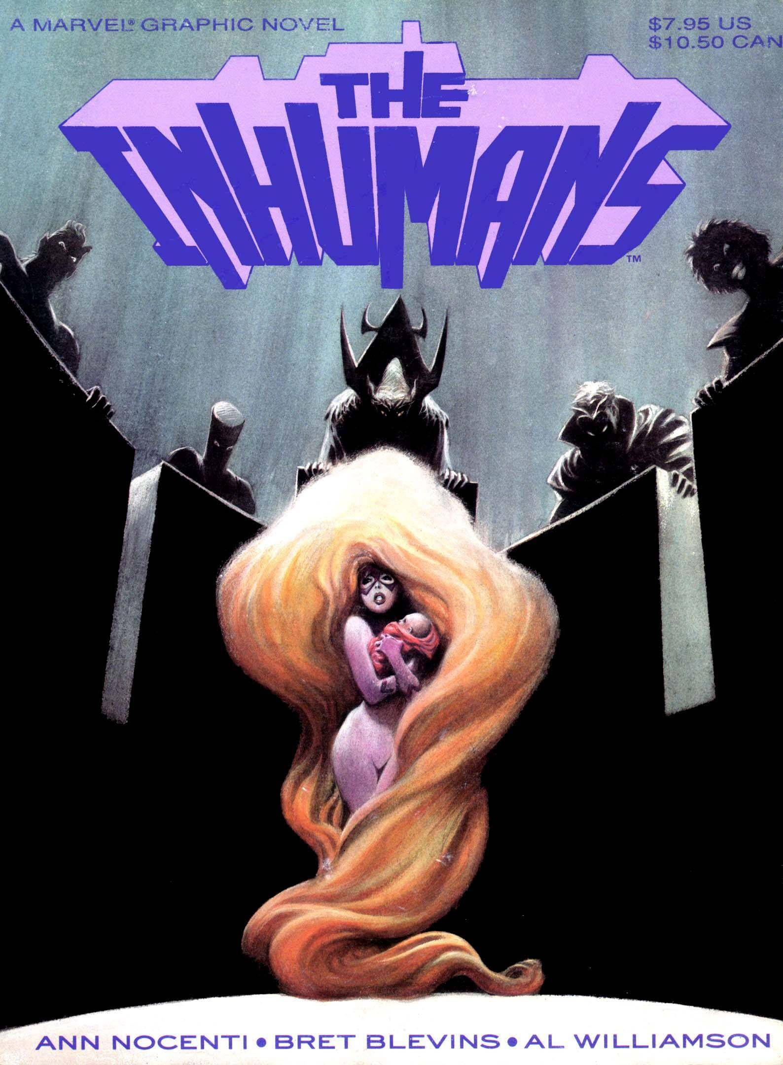 Marvel Graphic Novel 39 - The Inhumans 1988