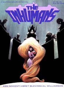 Marvel Graphic Novel 39 - The Inhumans 1988