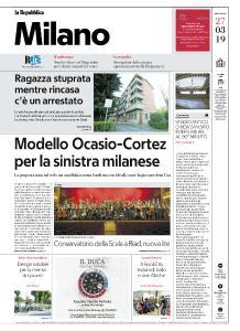 la Repubblica Milano - 27 Marzo 2019