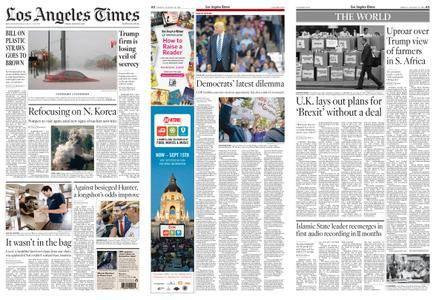 Los Angeles Times – August 24, 2018
