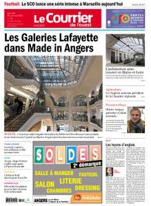 Le Courrier de l'Ouest Angers – 25 janvier 2020