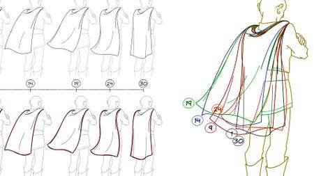 Animating in 2D: Hair and Clothing