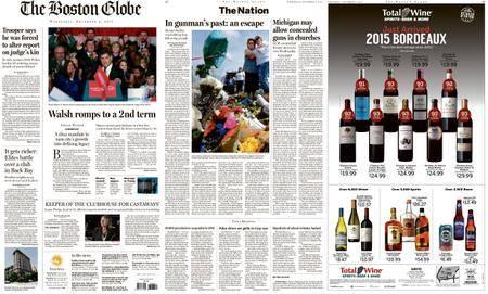 The Boston Globe – November 08, 2017