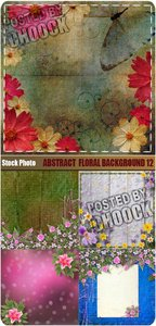 Stock Photo: Abstract floral background 12