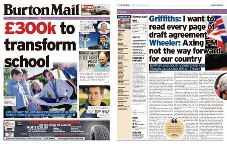 Burton Mail – November 16, 2018