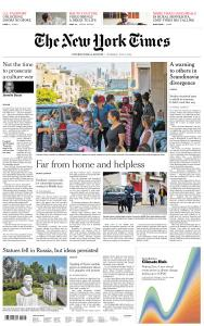 International New York Times - 9 July 2020