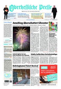 Oberhessische Presse Marburg/Ostkreis - 02. Januar 2019