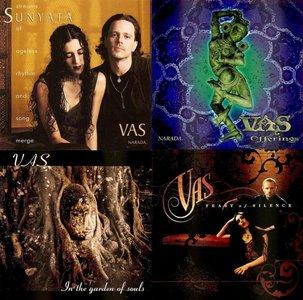 VAS (Azam Ali & Greg Ellis) Discography (1997-2004, 4 albums)