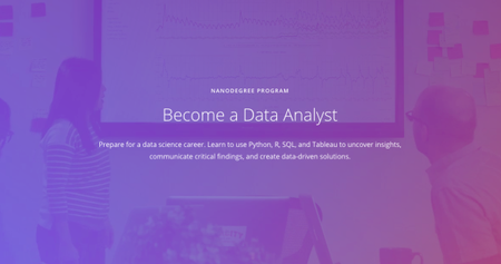 Udacity - Data Analyst Nanodegree nd002 v8.0.0 (2018)