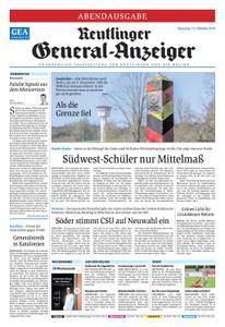 Reutlinger General-Anzeiger - 19. Oktober 2019