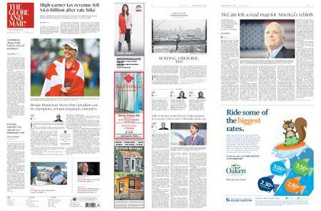 The Globe and Mail – August 27, 2018