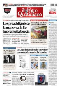 Il Fatto Quotidiano - 06 ottobre 2018