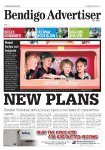 Bendigo Advertiser - March 16, 2020