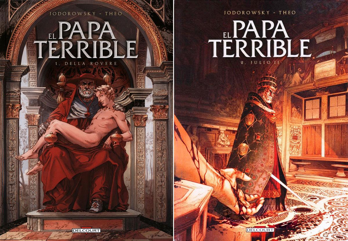 El Papa terrible: Della Rovere (Tomo 1) & Julio II (Tomo 2) / AvaxHome