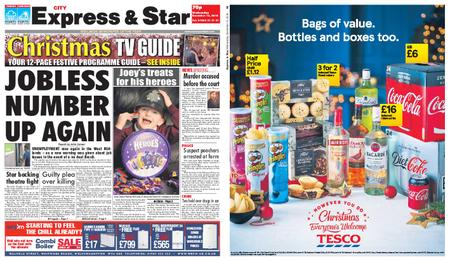 Express and Star City Edition – December 12, 2018