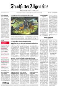 Frankfurter Allgemeine Zeitung F.A.Z. - 08. Oktober 2018