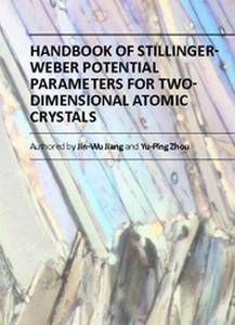 """""""Handbook of Stillinger-Weber Potential Parameters for Two-Dimensional Atomic Crystals""""  by Jin-Wu Jiang and Yu-Ping Zhou"""