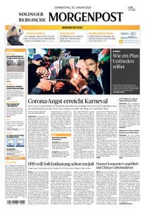Solinger Morgenpost – 30. Januar 2020