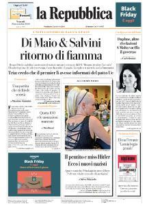 la Repubblica - 29 Novembre 2019