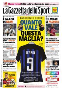 La Gazzetta dello Sport Roma – 02 aprile 2019