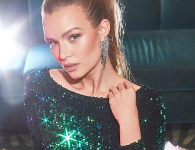 Josephine Skriver - Boohoo Holiday Campaign 2019 (All That Glitters)