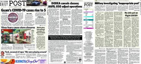 The Guam Daily Post – March 18, 2020