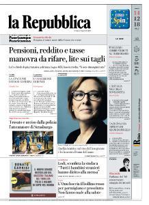 la Repubblica - 14 Dicembre 2018
