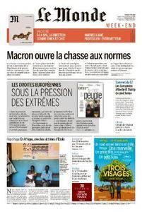 Le Monde du Samedi 9 Juin 2018