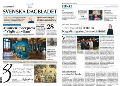 Svenska Dagbladet – 11 oktober 2018