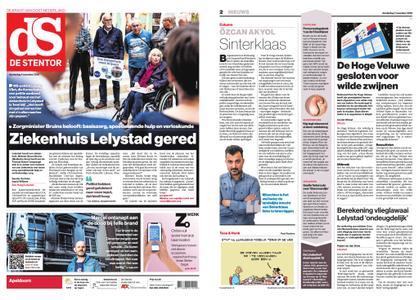 De Stentor - Apeldoorn – 01 november 2018