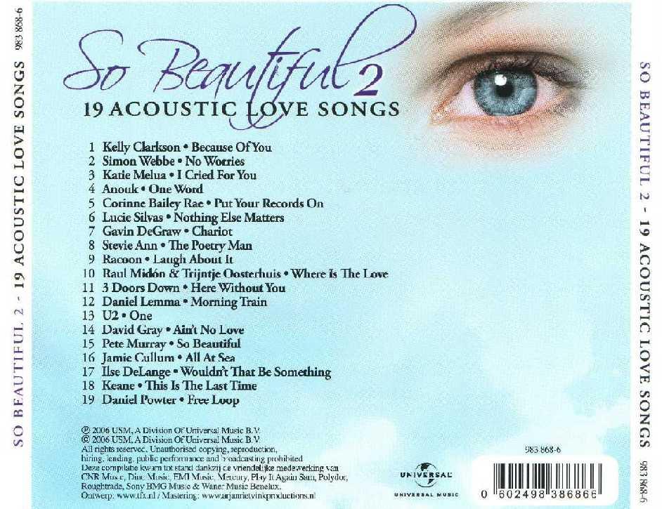 VA - So Beautiful Acoustic Love Songs Vol.2