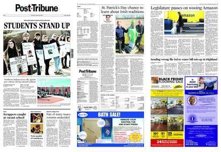 Post-Tribune – March 15, 2018