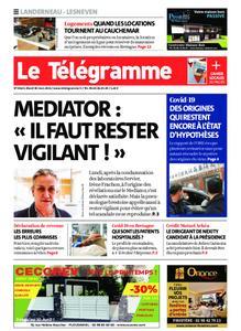 Le Télégramme Landerneau - Lesneven – 30 mars 2021