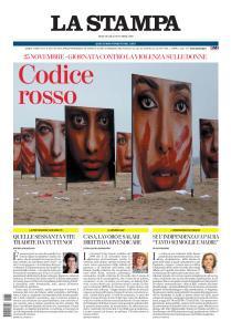 La Stampa Torino Provincia e Canavese - 25 Novembre 2020