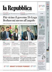 la Repubblica - 6 Aprile 2018
