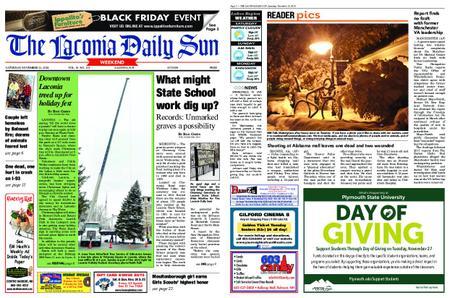 The Laconia Daily Sun – November 24, 2018