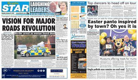 Shropshire Star Shrewsbury Edition – February 22, 2018