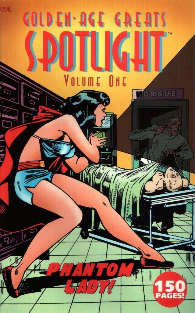 Golden-Age Spotlight  Volume 1 - Phantom Lady
