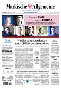 Märkische Allgemeine Luckenwalder Rundschau - 12. Juni 2018