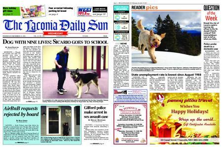 The Laconia Daily Sun – December 19, 2018
