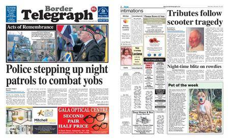 Border Telegraph – November 15, 2017